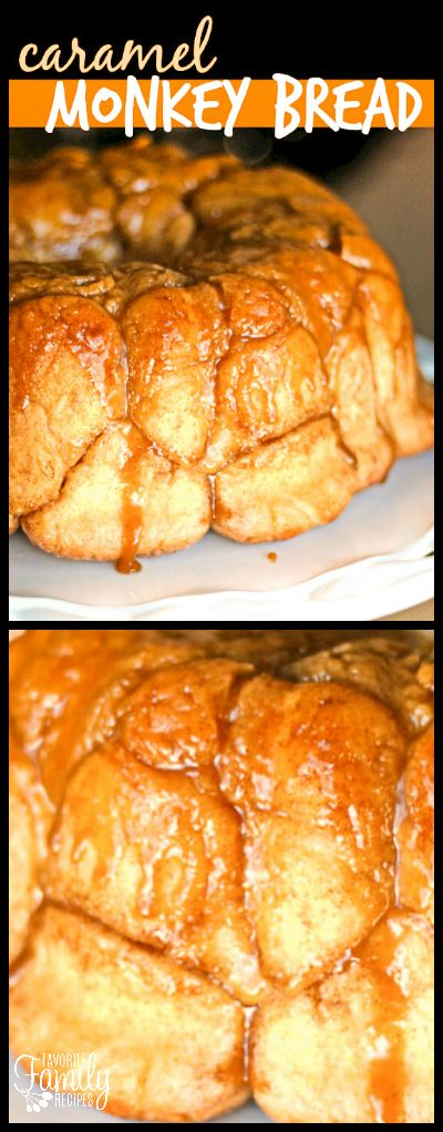 Caramel Monkey bread, monkey bread, bubble bread, pull-apart bread... call it what you like, this stuff is amazing! I love the basic dough recipe for this. via @favfamilyrecipz