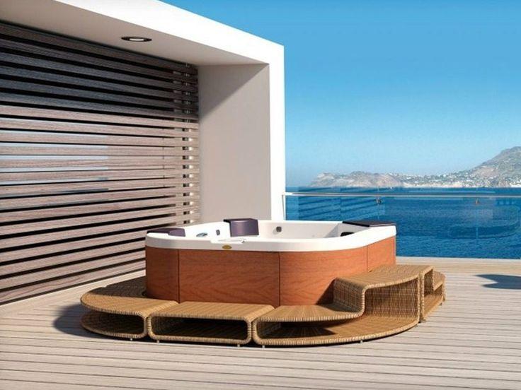 22 best ~ Jacuzzi Hot Tubs ~ images on Pinterest   Whirlpool bathtub ...