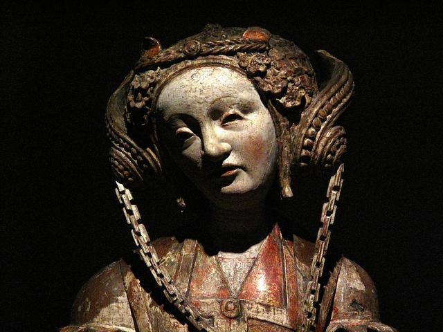 Dorothea,sculpture  by an anonymous master,1530.Utrech Museum Catharjineconvent