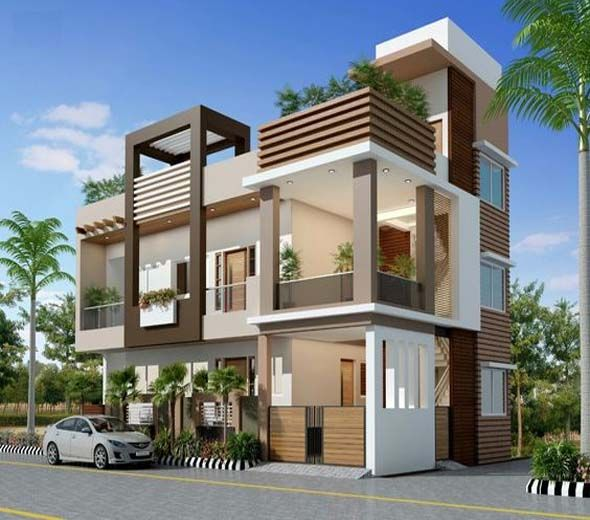 37 Stunning Contemporary House Exterior Design Ideas You Should Copy In 2020 Small House Exteriors Contemporary House Exterior Modern Minimalist House