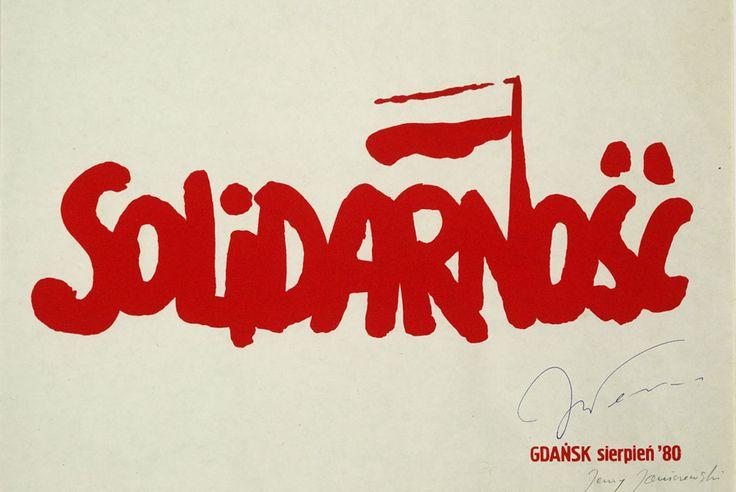 Solidarity logo, 19080 _ Jerzy Janiszewski,