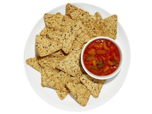 Upgrade your chips! Instead of potato chips, try whole grain tortilla chips and salsa.: Food Ideas, Eating Food, Easy Food, Dips Salsa, Google Search, Chips Dips, Dr. Who, Chip Dips, Food Drinks