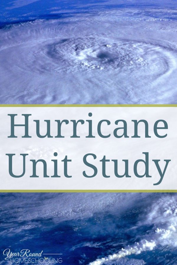 Hurricane Unit Study -