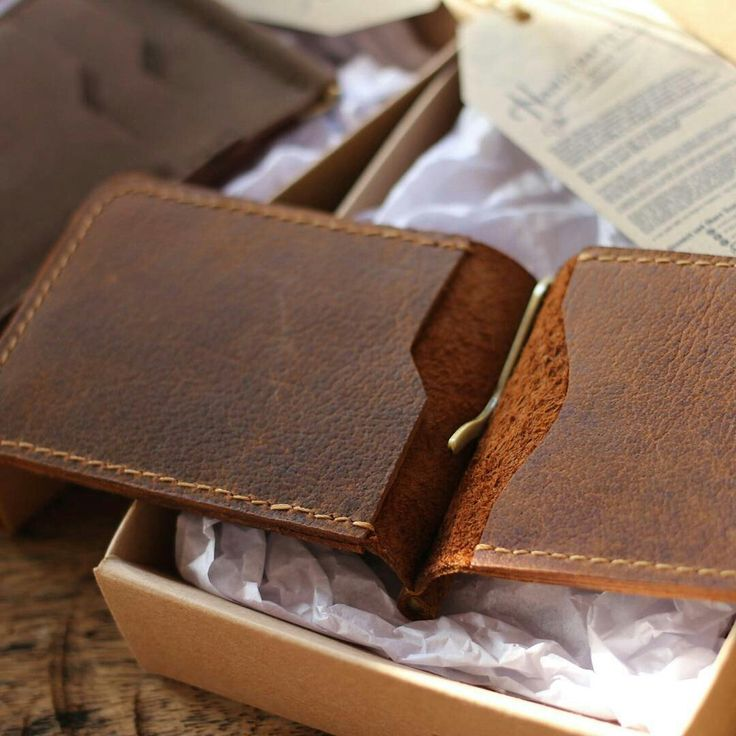 Rust money clips wallet