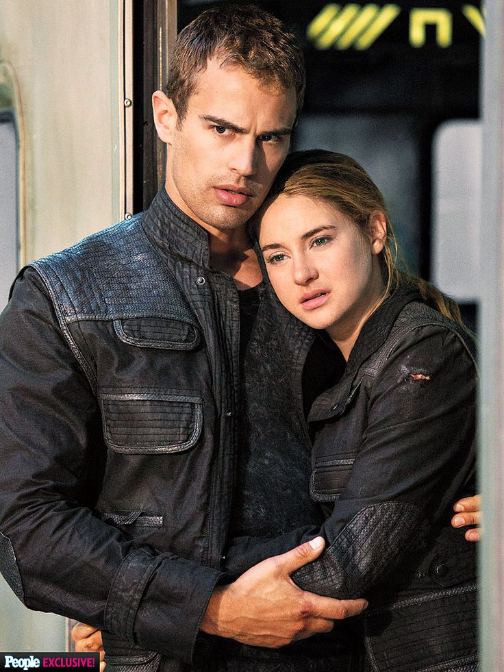 New still from 'Divergent' features Shailene Woodley and Theo James in an intimate embrace