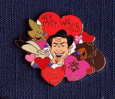 Mitt Romney Issued Comically Bizarre Cartoon-Mitt-Romney Olympic Pins