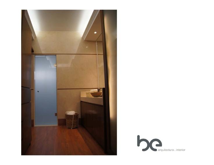 Baño Vestidor Arquitectura:Baño Vestidor despues