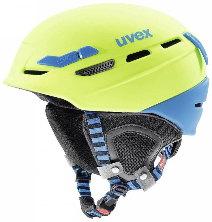Sportolino Angebote uvex Helm p.8000 Tour (Größe: 55-59 cm, 64 lime/blue mat): Category: Fahrrad>Fahrradhelme>Fahrradhelme…%#sport%