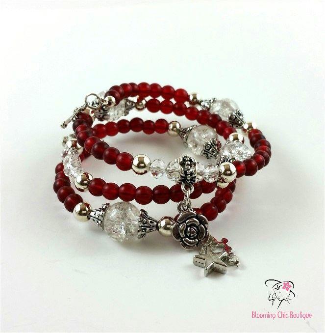 Bracelets Wild Gypsy Rose Memory Bracelet