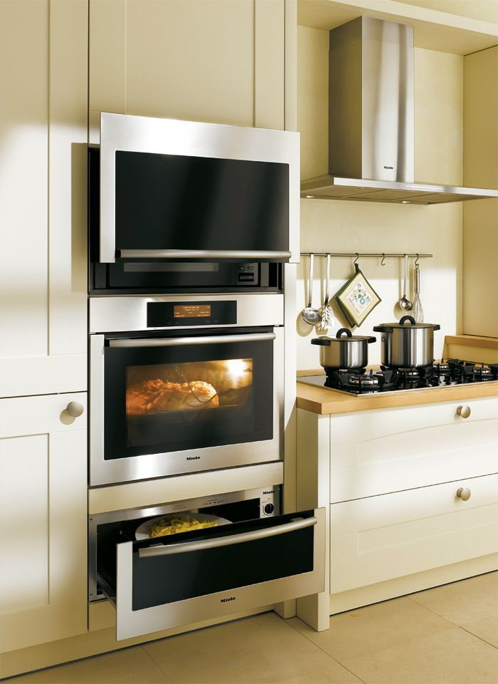 small kitchens with built in ovens | genius ideea from Miele that will ease your way in the kitchen.
