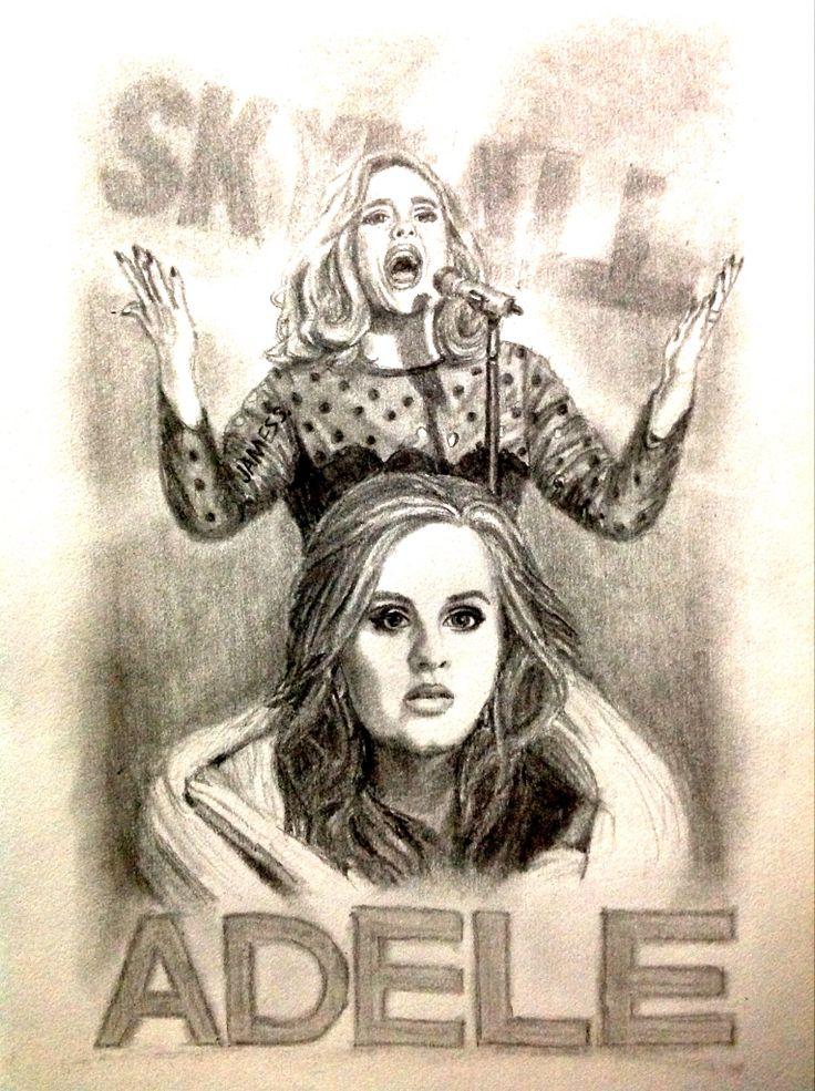 Celebrity Sketch of Adele
