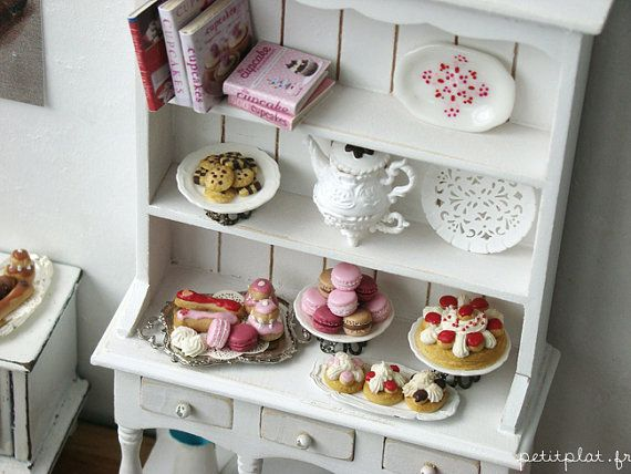 miniature pastries!