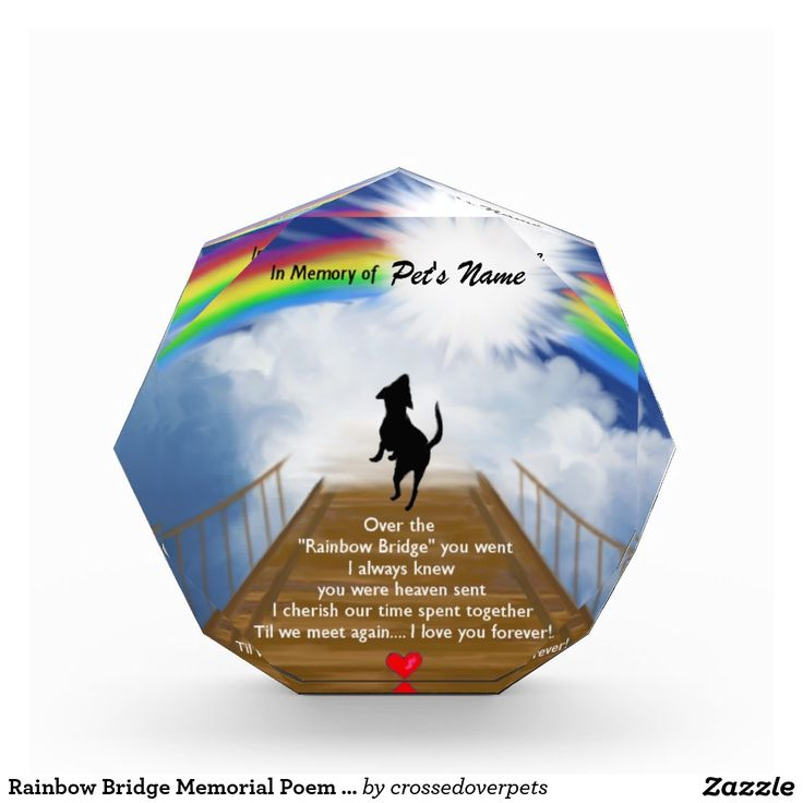 Rainbow Bridge Memorial Stone : Best images about crossed over pets on pinterest