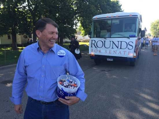 Republican South Dakota Senate candidate Mike Rounds admits he knew his former cabinet official, Richard Benda, was going to work for investors running a meatpacking concern called Northern Beef, right around the same time that Rounds signed off on a special $600,000 state loan package to the company that Benda had urged. | Daily Kos | Click here to read and share the sordid details.