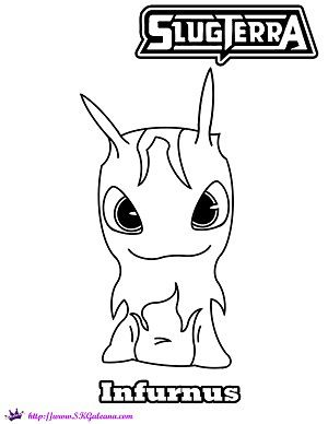 Slugs from slugterra coloring pages xmitter slugterra coloring page by - Coloring Pages Printables And Coloring On Pinterest