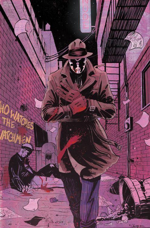 Tyler Champion Rorschach is my favourite.