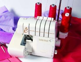 Tutorial: Use your serger for more than basic straight seams