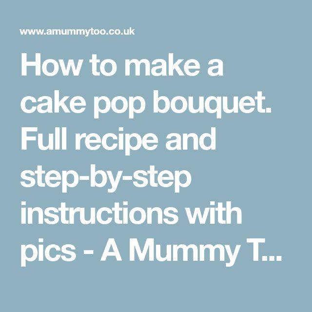 how to make a cake instructions