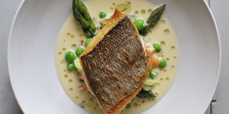 This grilled bream recipe is from the master of fish, Nathan Outlaw. This bream recipe uses a delicious mustard and tarragon sauce and is the ultimate fish supper