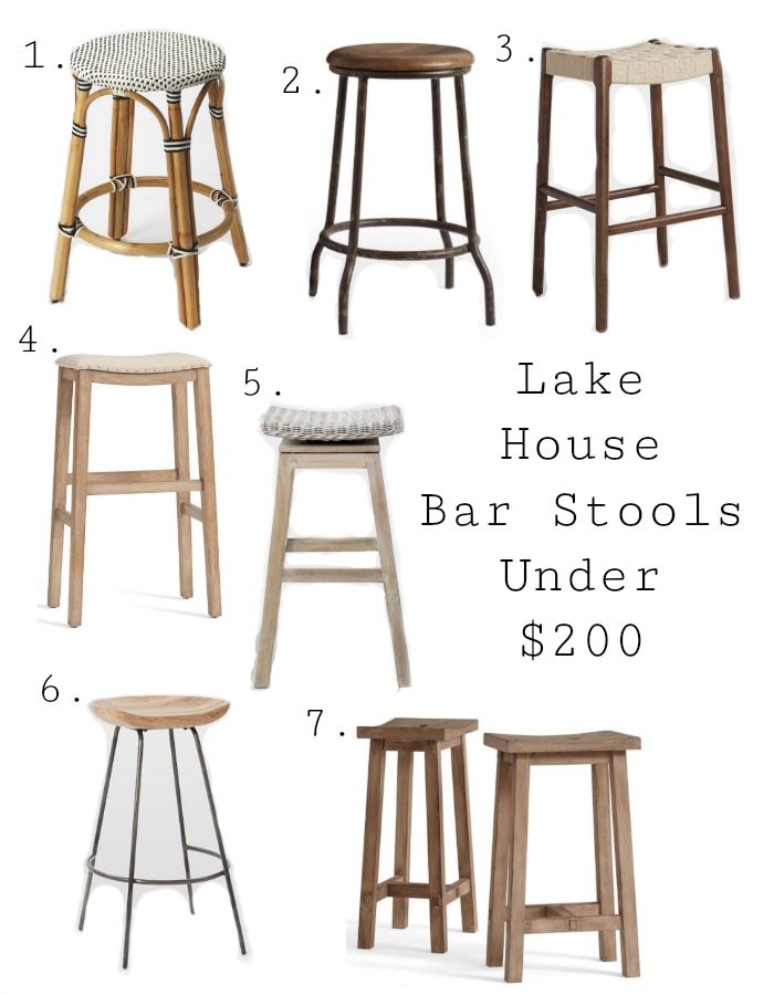 Best Lake House Bar Stools Bar Stools Bars For Home Stools For