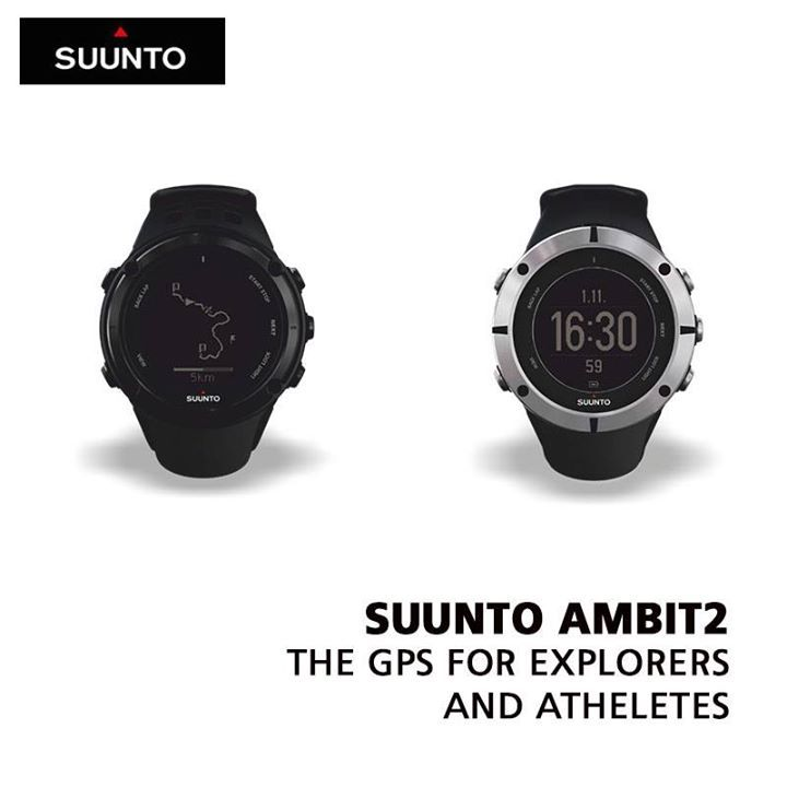 Going for a camping trip or a hiking trail with your friends?  Gear yourself up for an unforgettable journey with the Suunto Ambit2 Black.