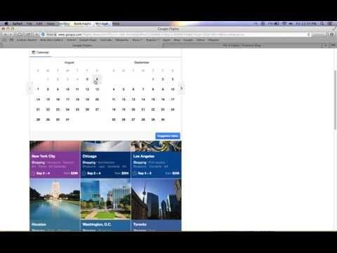 Google Flights Tutorial Video