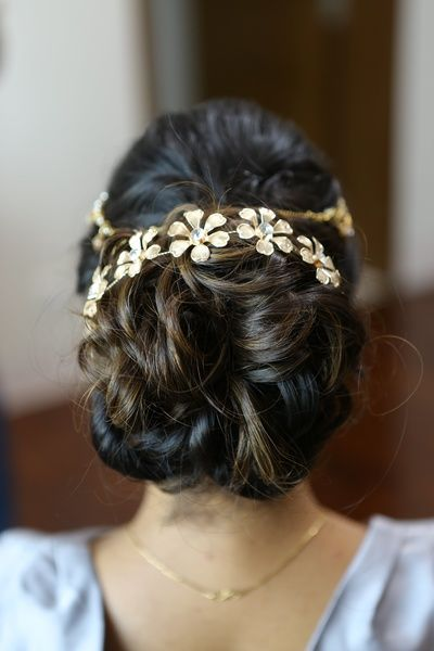 Bun hairstyle for indian wedding-1826