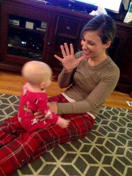 Infants understand their environment and needs long before they are able to verbalize what they want using words. Teaching your baby basic sign language (such as eat, more, diaper, etc.) can help your baby communicate his needs before he's able to talk and can reduce frustration from not being understood. Most babies can begin signing at 6-12 months, but you can introduce signing to your baby from birth. #naturalskincare #healthyskin #skincareproducts #Australianskincare #AqiskinCare