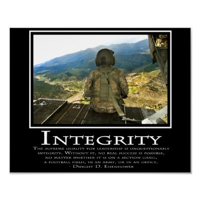 Army integrity