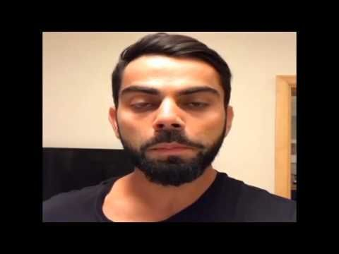 Watch Virat Kohli saddened by heartbreaking level of pollution