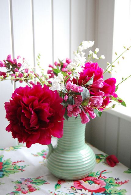 flowers from the garden  By leah halliday on Flickr