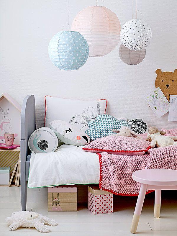 Leuk idee voor ophangen lampen | Bloomingville Mini