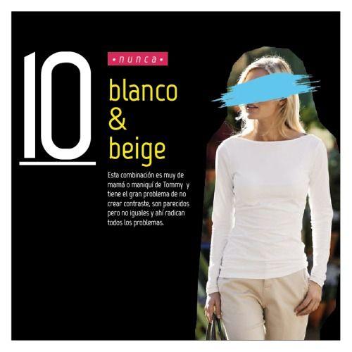 Blanco & beige