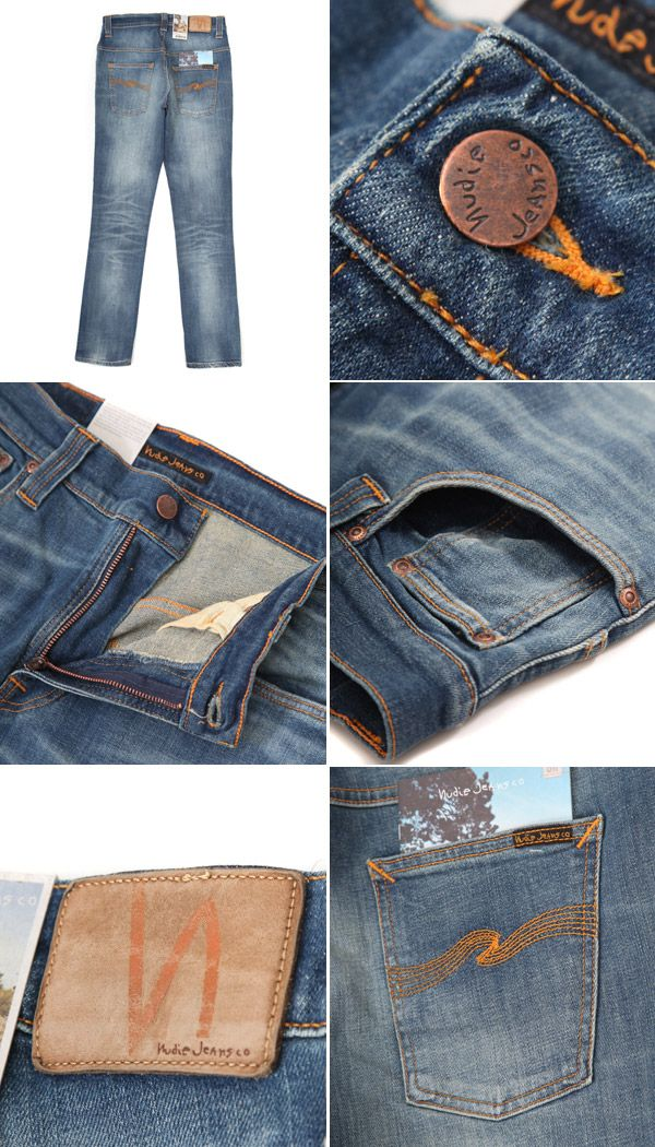Rakuten: nudie jeans Thin Finn-sang blue- Shopping Japanese products from Japan