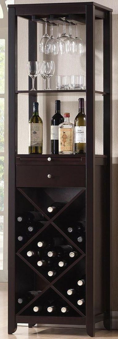 wine storage tower wine room
