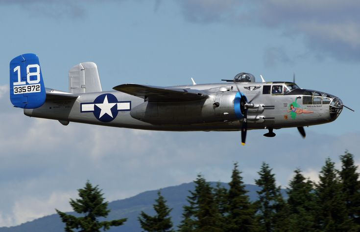 """Maid in The Shade"" B-25J Mitchell"