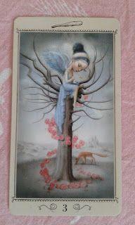 Księżyc, poezja i karty tarota: Karciany Pamiętnik #1 Trzy buławy