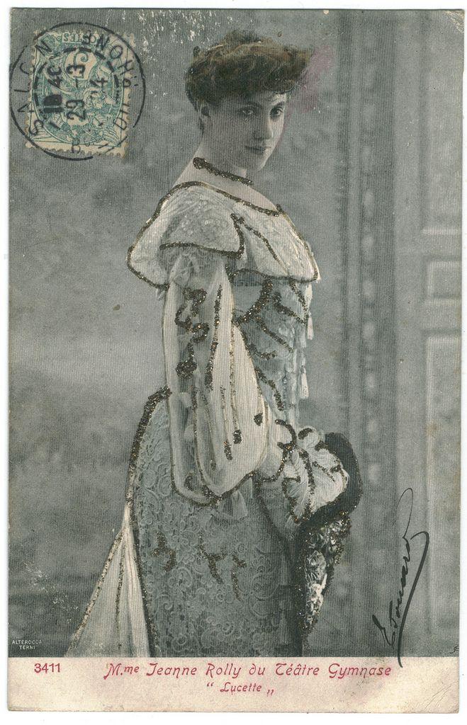 Jeanne Rolly | ROLLY, Jeanne_Alterocca Terni. 3411. In Lucette (Théâtre Gymnase)