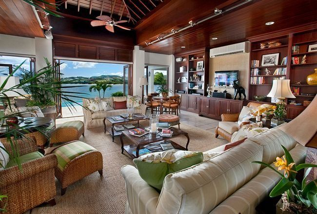 Caribbean Interior Design A Breath Of Tropical Air In Your
