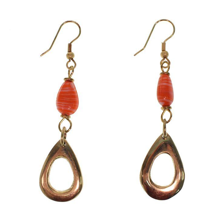 African Love Bird Nickel Free Earrings