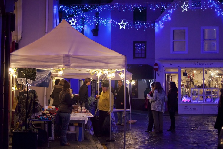 Christmas at the Old Quarter in Guernsey
