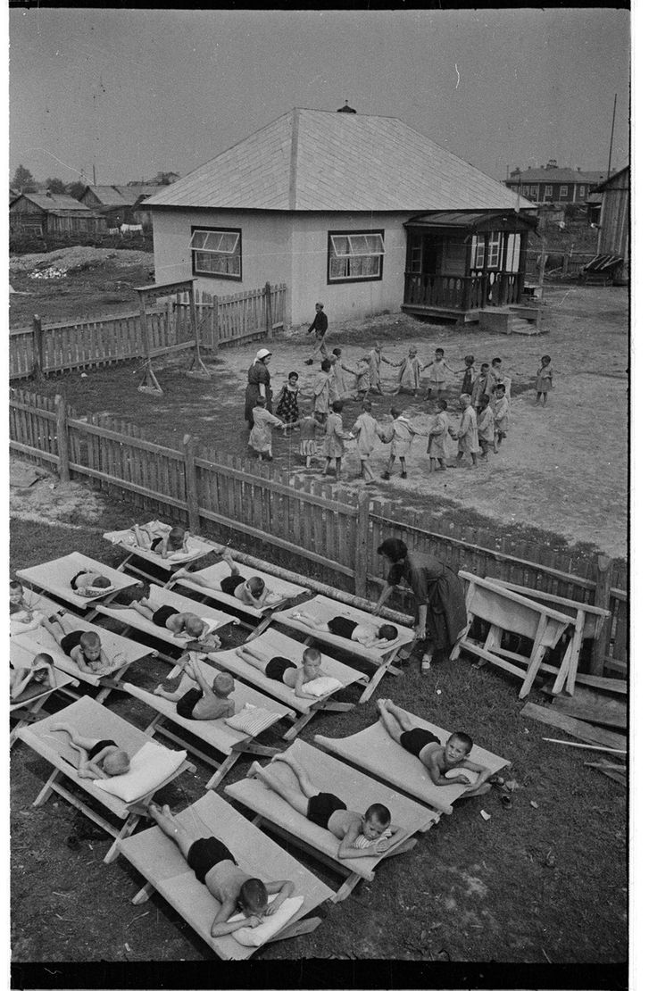 Summer children camp, Jewish Autonomous Oblast, Russian Far East by Semyon Fridlyand