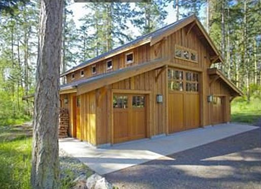 Best 25 rv garage ideas on pinterest rv garage plans Barn plans with living area