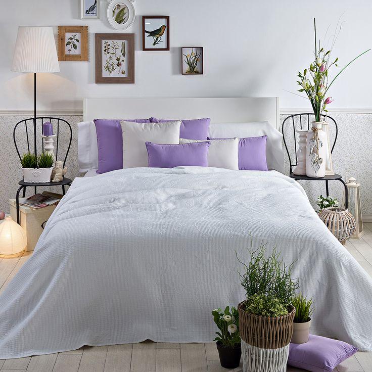 24 best colchas de verano images on pinterest bedding - Colcha blanca ikea ...