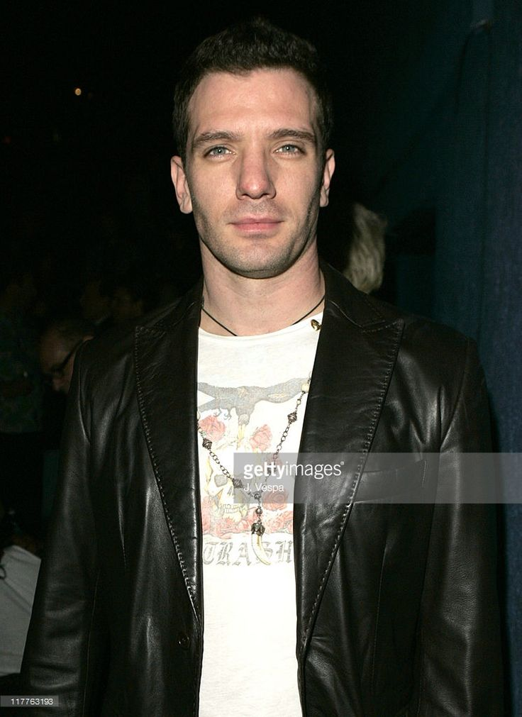 J.C. Chasez during Frederick's of Hollywood 2006 Spring Collection Fashion Show - Inside at Avalon in Los Angeles, California, United States.