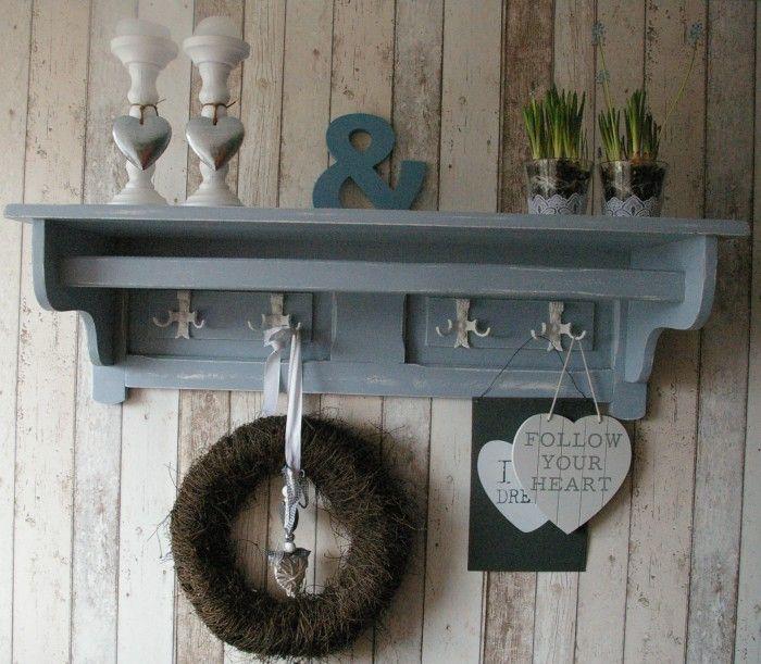 Brocante Wandplank Keuken : ! wandplanken kapstokken on Pinterest Photo heart, Brocante and Van