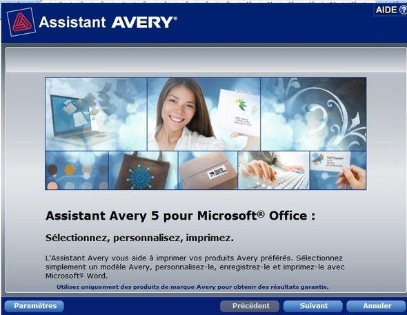 Assistant étiquettes pour Microsoft Office . | Le blog de Radiblog