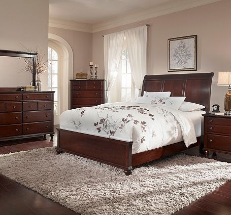 17 Best Ideas About Cherry Sleigh Bed On Pinterest