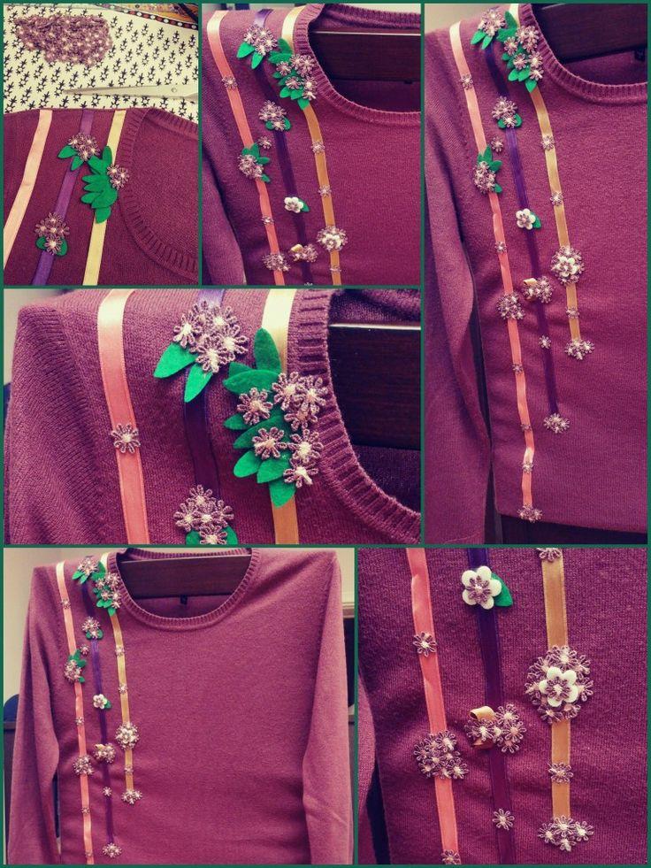 Kazak, kazak süsleme, diy, ben yaptım, el emeği, el yapımı, kendin yap, diy project, do it yourself, handmade, handcraft
