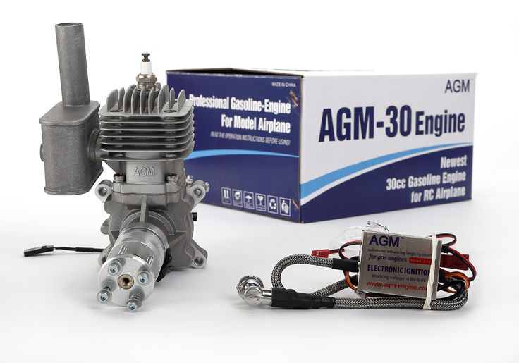 AGM-30/30cc Two Stroke #Petrol #Engine 3.7HP/8500rpm with CDI Ignition